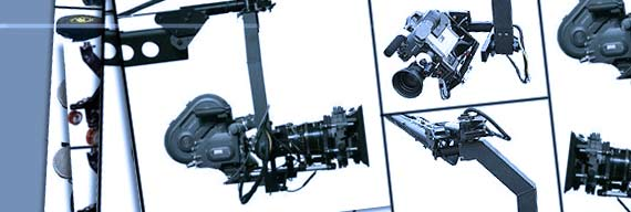 Jimmy Jib Remote Head (2 & 3 axes)